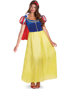 Costume Biancaneve deluxe da donna