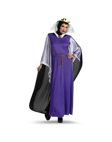 Fato de Rainha Malvada da Branca de Neve deluxe para mulher