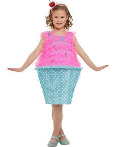 2c94cf5c4 Fato de cupcake cor-de-rosa para menina ...