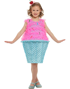 Cupcake costume for kids