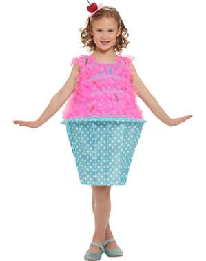 Cupcake maskeraddräkt barn