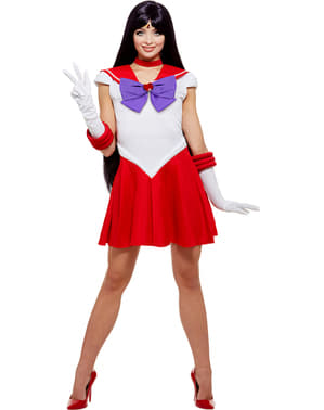 Sailor Mars kostyme - Sailor Moon