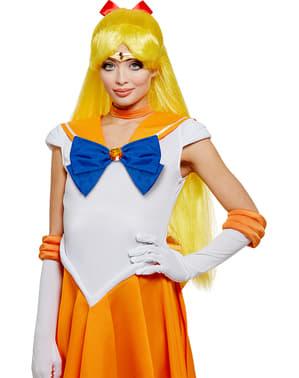 Perucă Sailor Venus- Sailor Moon