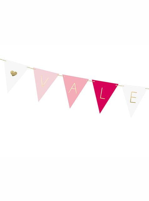 Banderines día de San Valentín - Valentine Collection - para tus fiestas