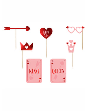 "7 peças para fotografia ""King-Queen"" - Valentine Collection"