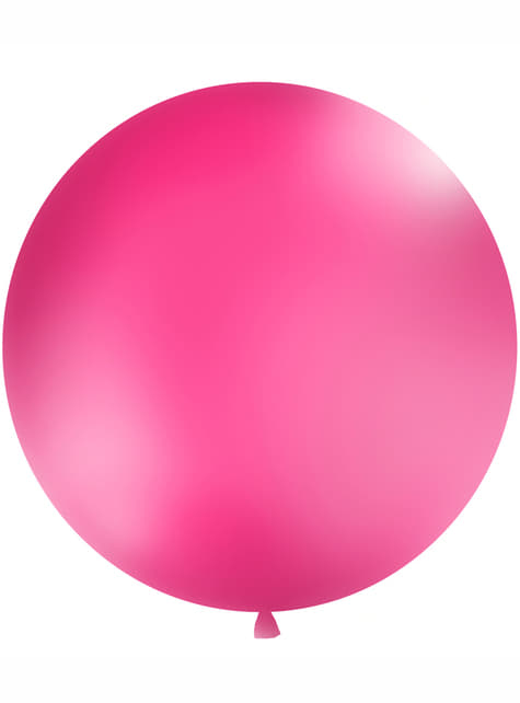Ballon géant rose fuchsia