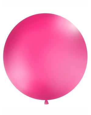 Kæmpe Hot Pink Ballon