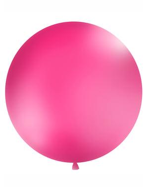 Ogromny różowy balon