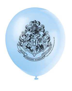 Sett med 8 Assortert Galtvort Hus Ballonger -  Harry Potter