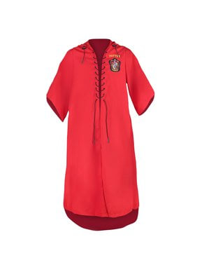 Robe Harry Potter Gryffindor Quidditch för vuxen (officiell replika Collectors)