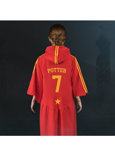 Túnica de Quidditch Gryffindor para adulto (Réplica oficial Collectors)- Harry Potter