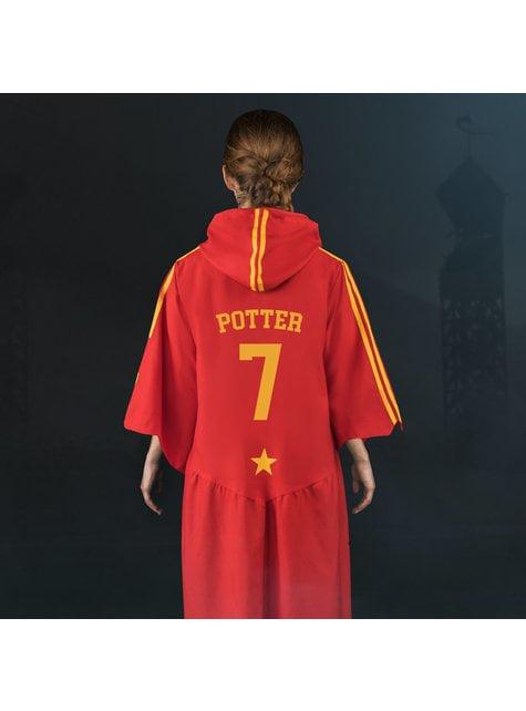 Túnica de Quidditch Gryffindor para adulto (Réplica oficial Collectors) - Harry Potter