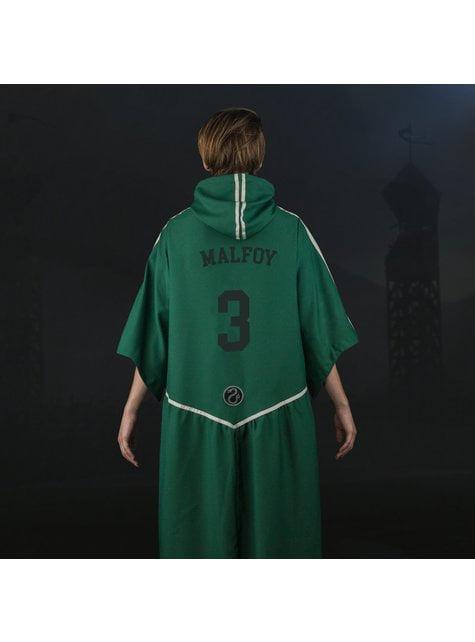 Túnica de Quidditch Slytherin para adulto (Réplica oficial Collectors) - Harry Potter - para regalar en cualquier ocasión