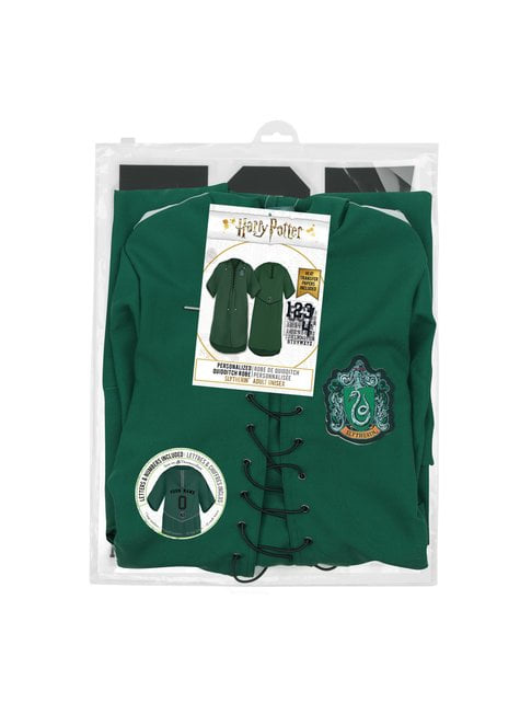 Capa de Quidditch Slytherin para adulto - Harry Potter
