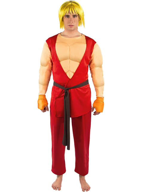 Ken Kostüm - Street Fighter