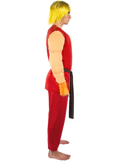 Ken Costume Street Fighter Express Delivery Funidelia