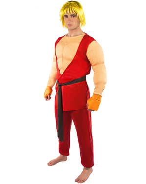 Ken Maskeraddräkt - Street Fighter