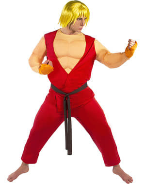 Kostým Ken - Street Fighter