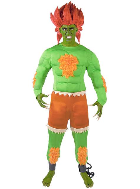 Disfraz de Blanka - Street Fighter - hombre