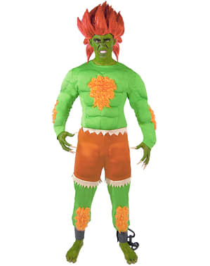 Disfraz de Blanka - Street Fighter