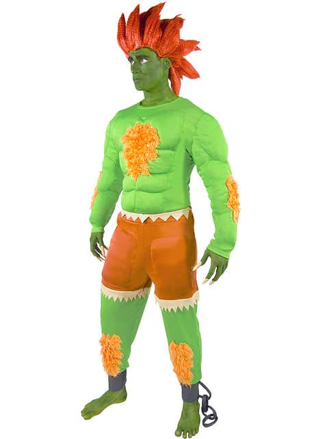 Disfraz de Blanka - Street Fighter - Halloween