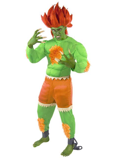 Disfraz de Blanka - Street Fighter - Carnaval