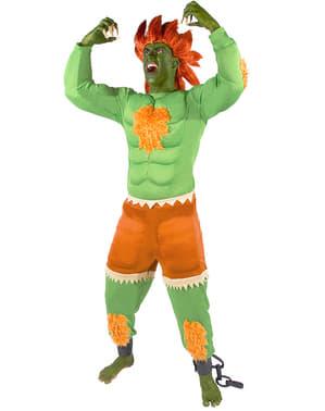 Blanka Maskeraddräkt - Street Fighter