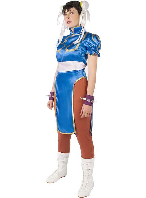 Fato de Chun-Li - Street Fighter