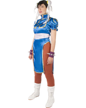 Chun-Li kostým - Street Fighter