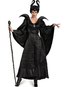 Maskeraddräkt Maleficent deluxe för kvinna