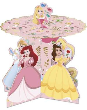 Platou decorativ pentru cupcake cu prințesele magice Disney - True Princess