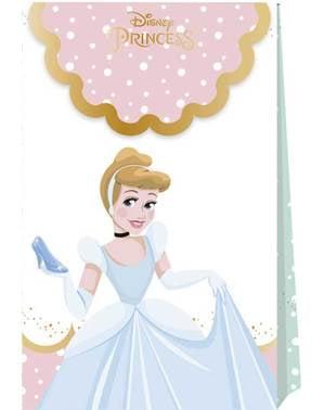 4 varázslatos Disney Princesses Party táskák - True Princess halmaza