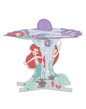 Base decorativa per cupcake della Sirenetta- Ariel Under the Sea