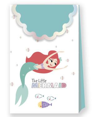 4 torebki prezentowe Mała Syrenka – Ariel Under the Sea