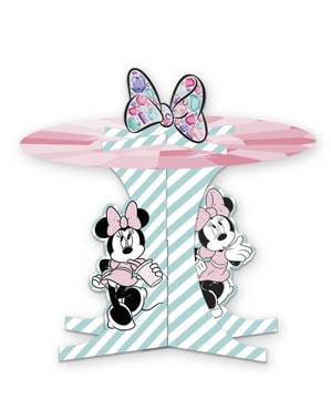 Base decorativa para cupcake de Minnie Mouse - Minnie Party Gem