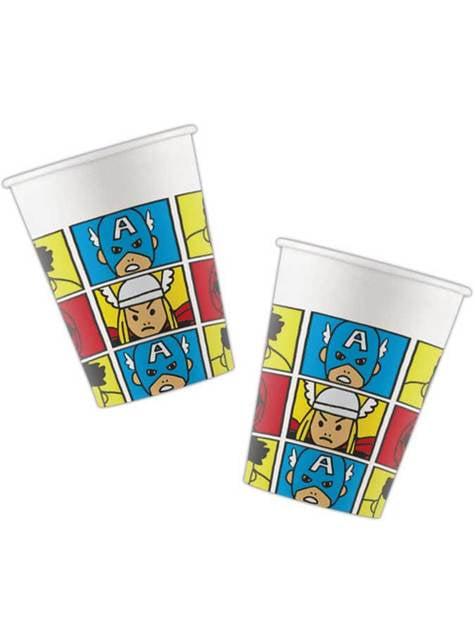 8 The Avengers Cups - Avengers Pop Comic