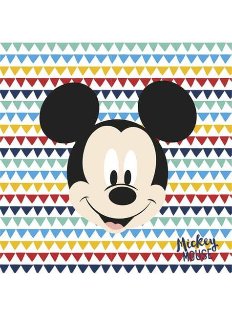 20 servilletas de Mickey Mouse (33x33cm) - Mickey Awesome