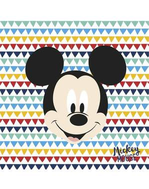 20 Mickey Mouse servette (33x33cm) - Mickey Awesome