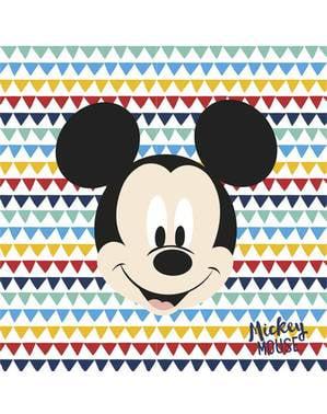 Sett med 20 Mikke Mus Servietter - Mickey Awesome