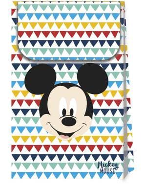 4 sacos de doces de Mickey Mouse - Mickey Awesome