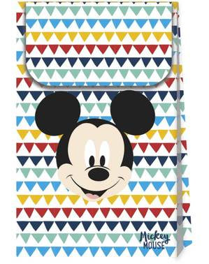 4 Mickey Mouse Party Bags - Mickey Awesome