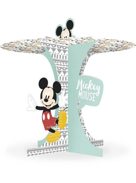 Base decorativa para cupcake de Mickey Mouse - Mickey Awesome
