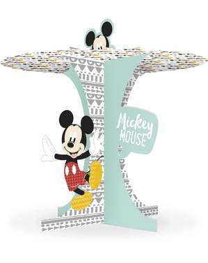 Base decorativa per cupcake di Topolino - Mickey Awesome