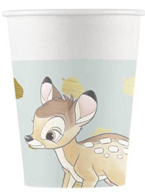 8 gobelets  de Bambi - Sweet Bambi