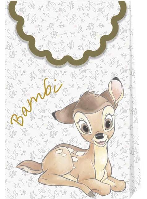 4 Bambi Party Bags - Sweet Bambi