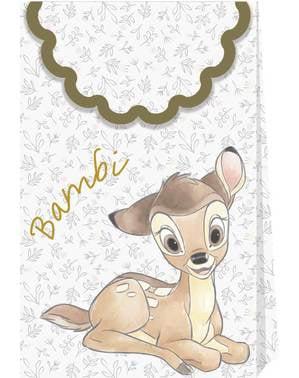 Sett med 4 Bambi Festposer - Sweet Bambi
