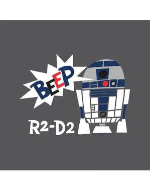 20 servilletas de Star Wars R2D2 (33x33cm) - Star Wars Pop Comic