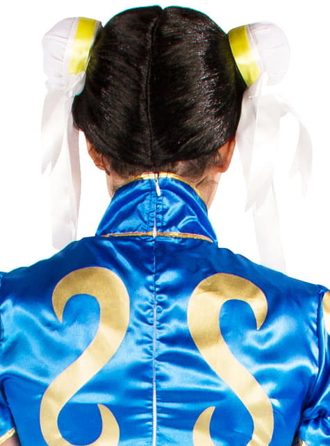 Peluca de Chun-Li - Street Fighter