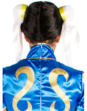 Perucă Chun-Li - Street Fighter