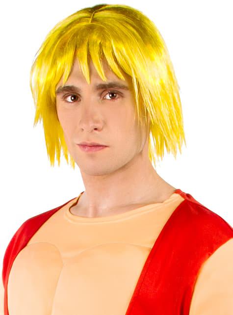Peruca de Ken - Street Fighter